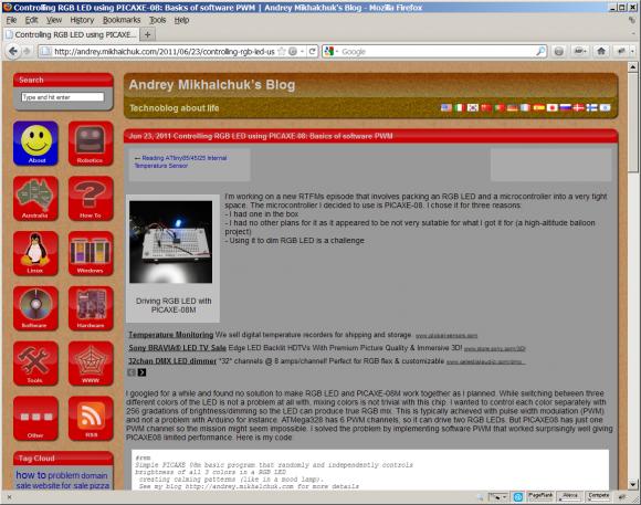 Andrey Mikhalchuk's Blog