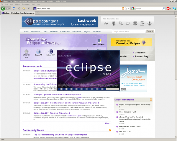 Download and install Eclipse IDE