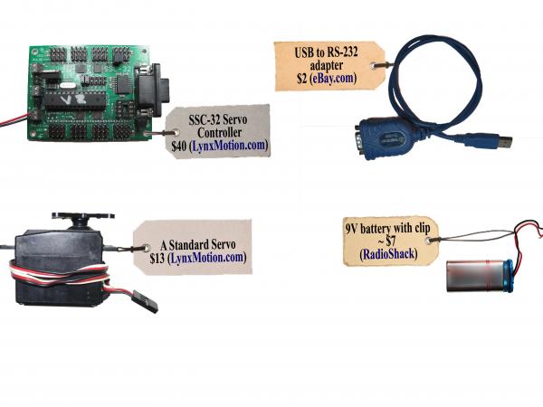 Voice Robot Materials